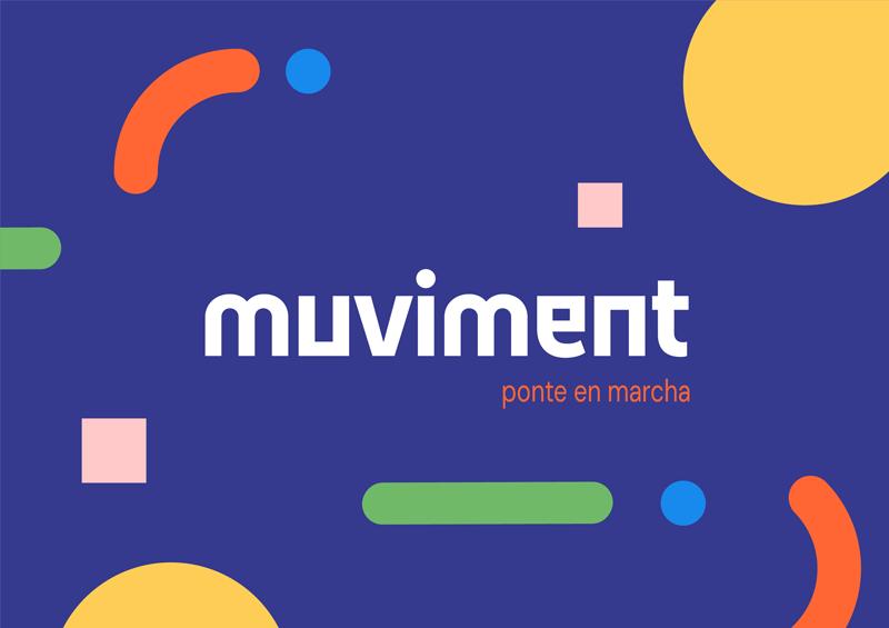Muviment, servicio online gratuito contra el sedentarismo, de Runnea y TECH Friendly
