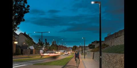 Izylum, solución de iluminación vial y urbana de Schréder