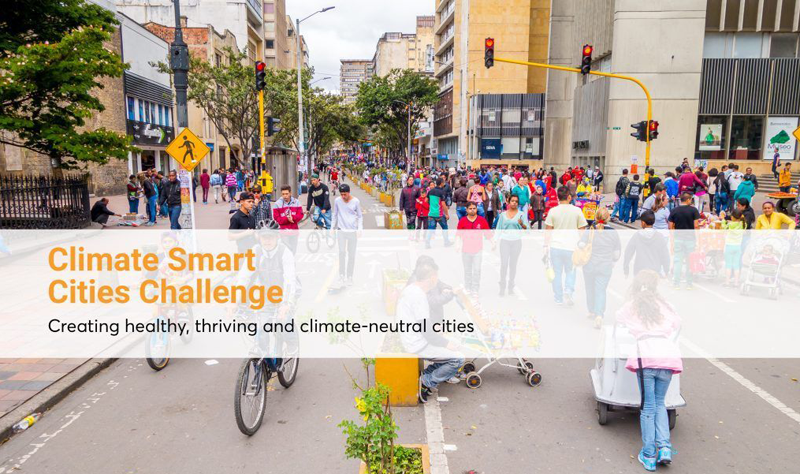 Convocatoria Climate Smart Cities Challenge