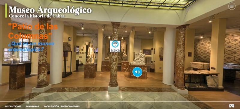 Tour Virtual al Museo Arqueológico de Cabra.