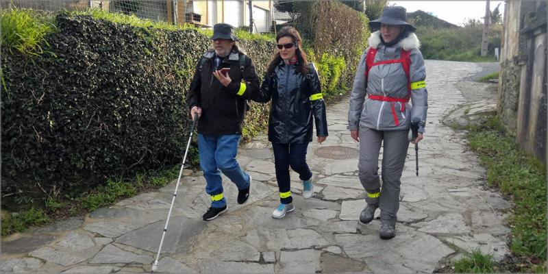 app accesible para el Camino de Santiago