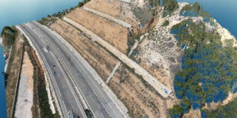 Aumento de la resiliencia de las carreteras mediante el uso combinado de tecnologías multisensor y modelos climáticos