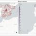 La plataforma 'Covid-19 Flow-Maps' muestra la relación entre propagación y movilidad