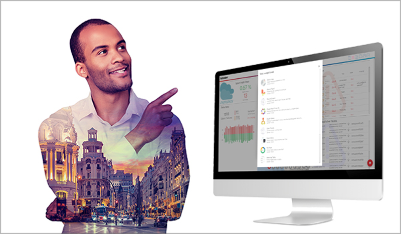 plataforma de IoT para alumbrado inteligente y smart cities Schréder Exedra