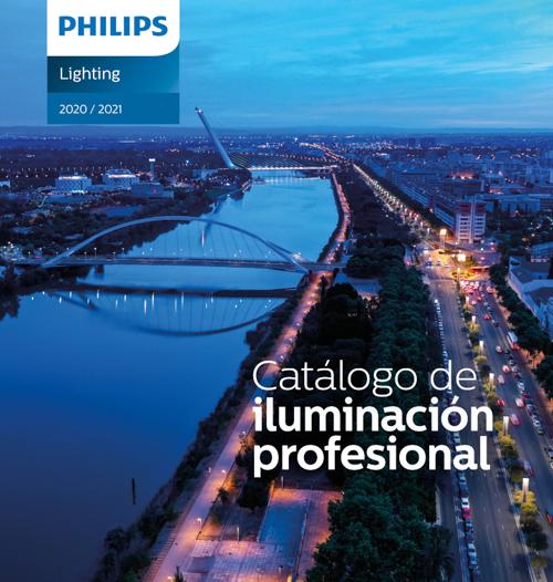 portada Catálogo de iluminación profesional 2020 de Signify