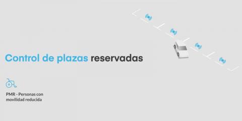 Solución para controlar las plazas de parking reservadas para personas con movilidad reducida