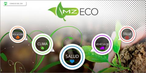 MZ Eco, Análisis predictivo de la calidad del aire, consejos y simulaciones para combatir la contaminación y enfermedades respiratorias