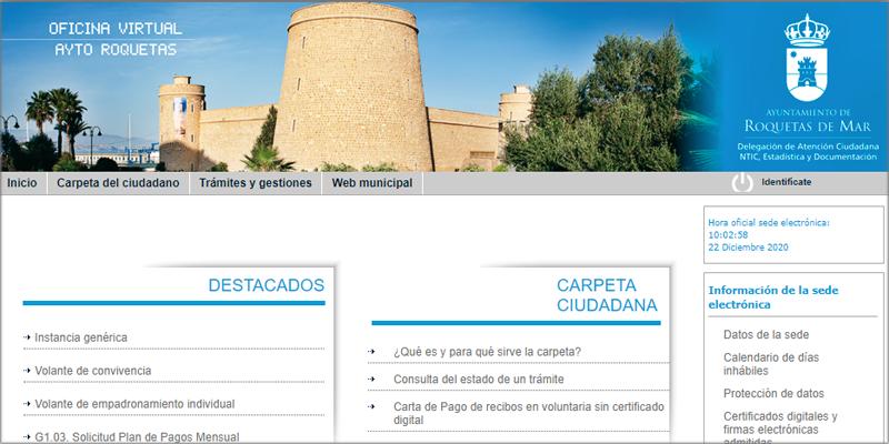 Roquetas de Mar, en Almería, adjudica a Berger-Levrault la modernización de su sede electrónica