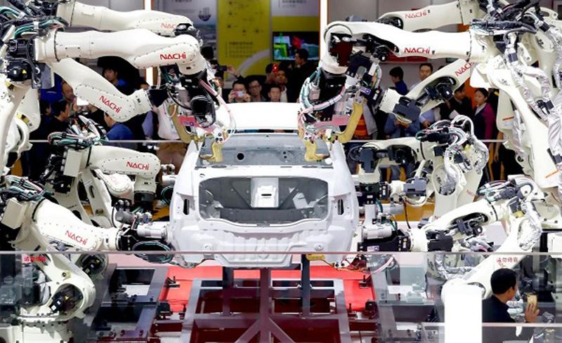 fabricación inteligente en Shanghái
