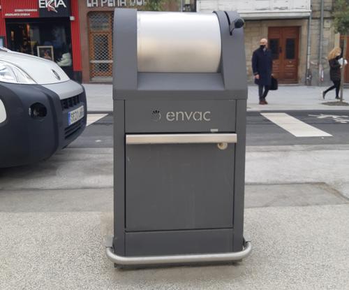 Buzón Gyro de Envac en Vitoria
