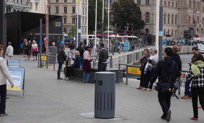 soluciones de gestión de residuos sólidos urbanos de Envac en Estocolmo
