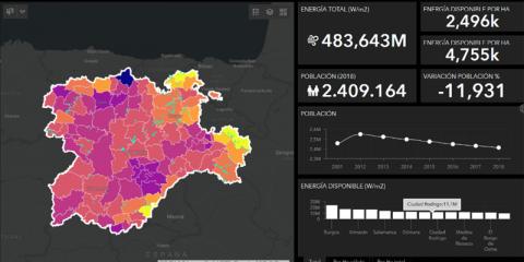 Inteligencia geográfica aplicada a la energía y la sociedad
