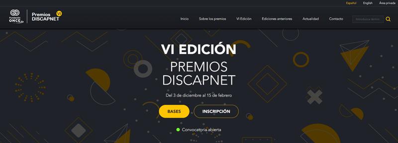VI edición Premios Discapnet