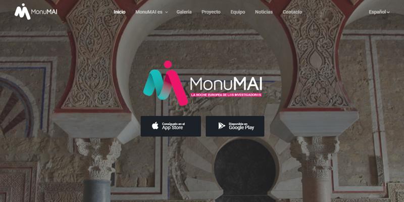 página web MonuMAI