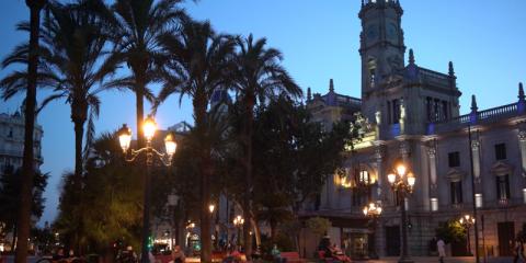Proyecto de renovación del alumbrado de Valencia
