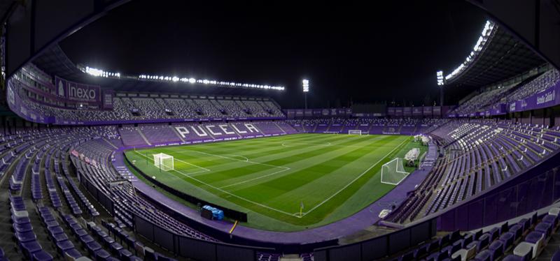 estadio José Zorrilla del Real Valladolid C.F.
