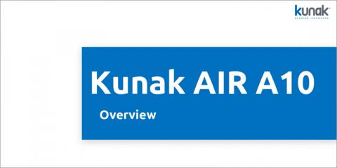 Sistema de medición de la calidad del aire Kunak Air A10