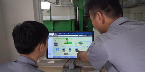 Sistema de gestión de residuos y lavandería de Envac