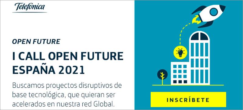 primera convocatoria de Telefónica Open Future 2021