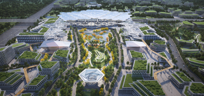 Chengdu Future City, ATCHAIN