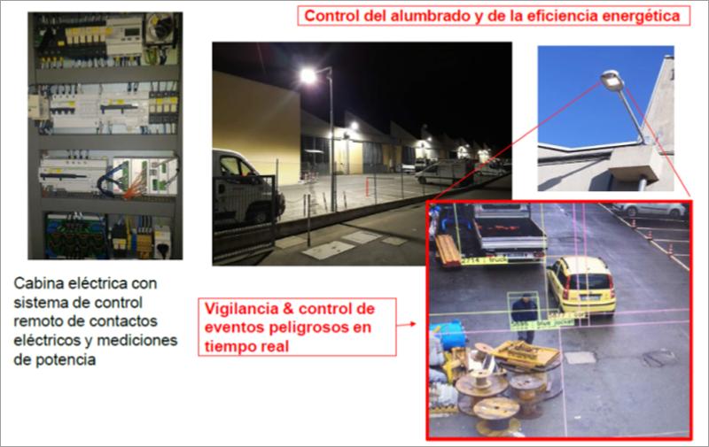 Seguridad en áreas industriales.