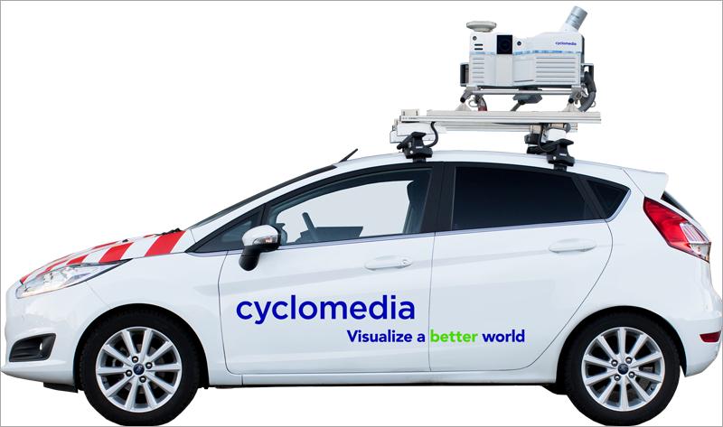 recopilación de datos urbanos Cyclomedia