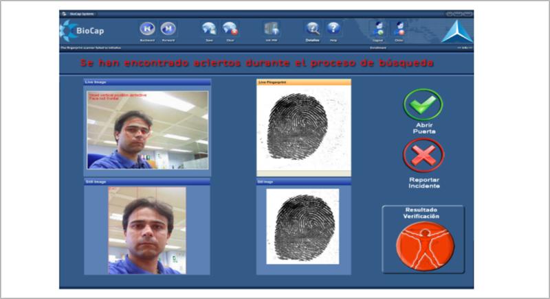 Programa de reconocimiento facial.