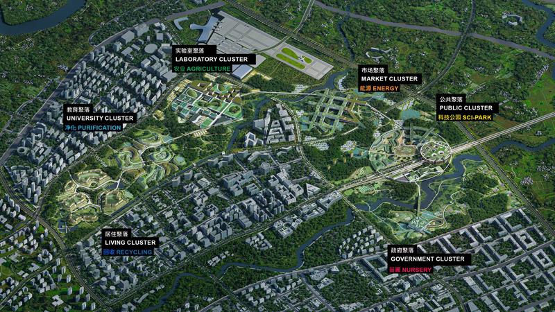 Chengdu Future City, Ciudad de la Ciencia y la Tecnología del Futuro