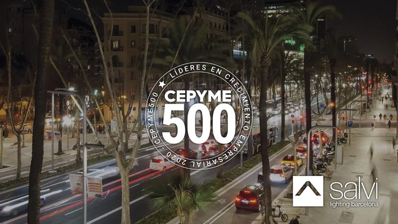 CEPYME 500 2020 incluye a Salvi Lighting