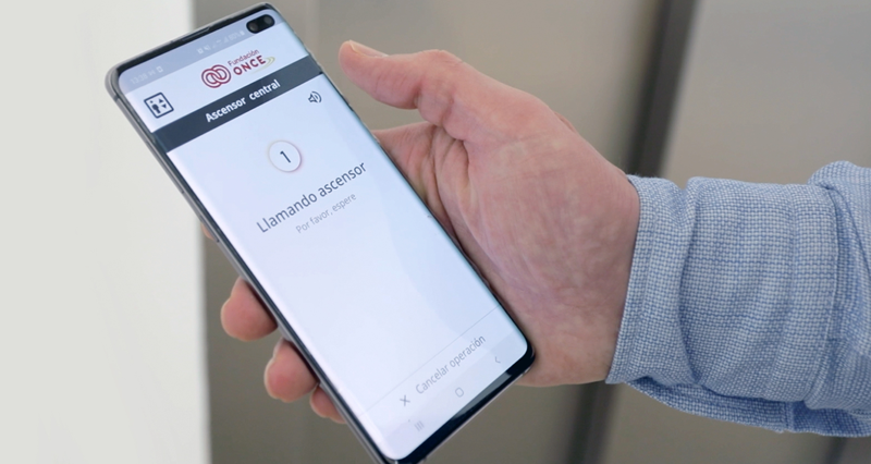 app botonera virtual para ascensores