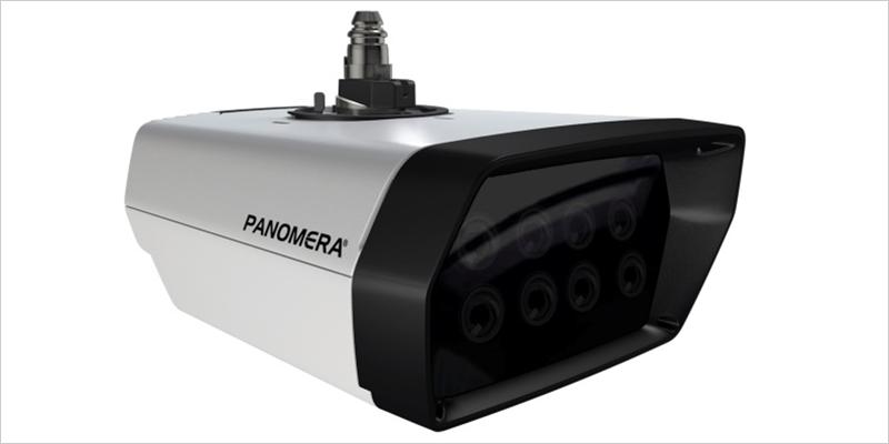 Figura 1. La tecnología de sensores multifocal combina hasta ocho sensores en un único sistema de cámara y puede captar así toda la superficie de interés con una resolución mínima definida, lo que es condición para aplicaciones efectivas basadas en IA.