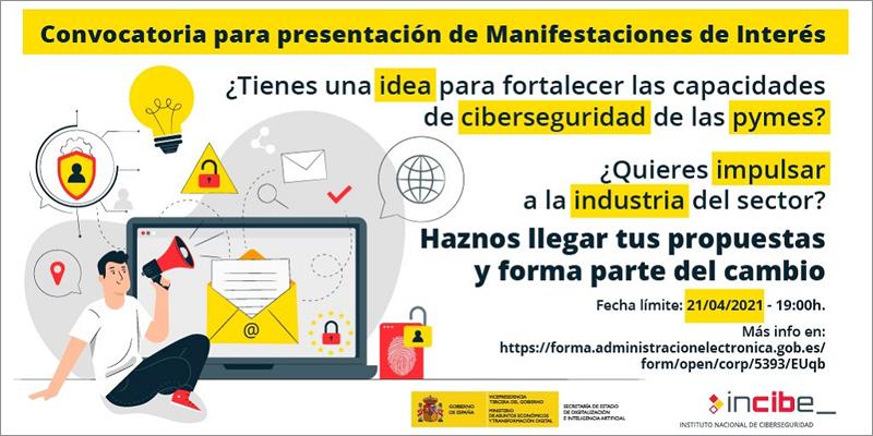Consulta para buscar propuestas que impulsen la ciberseguridad de las pymes y la industria del sector