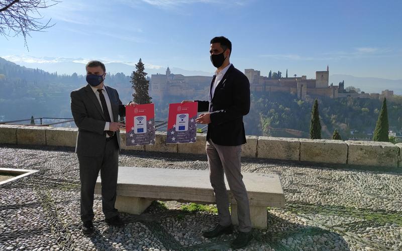 puntos wifi en el Mirador de San Nicolás, Granada