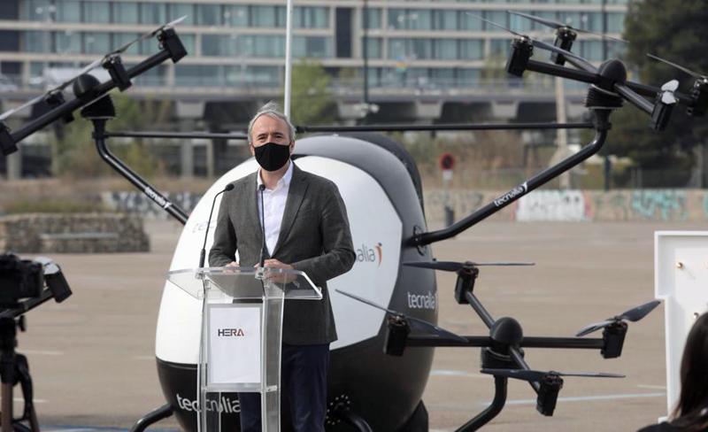 Here Drone Hub en Zaragoza