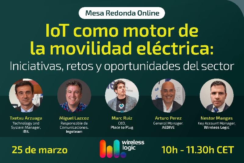 mesa redonda 'IoT como motor de la movilidad eléctrica: iniciativas, retos y oportunidades del sector'