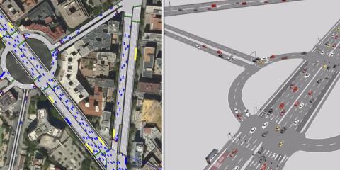 El simulador de movilidad de Madrid se amplía y actualiza para mejorar sus previsiones