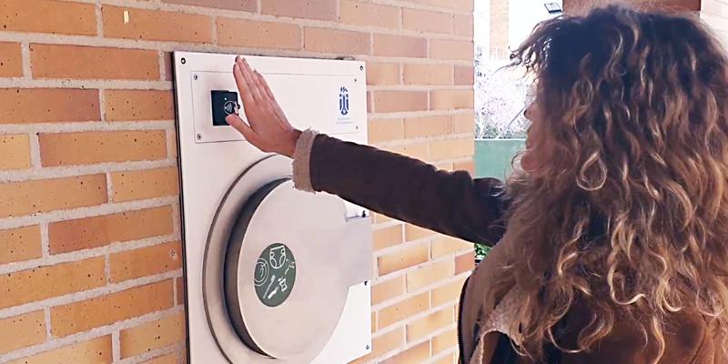 Un sistema neumático de recogida de residuos en Majadahonda incorpora compuertas con tecnología touchless
