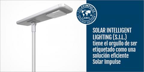 Solar Intelligent Lighting de Salvi obtiene la etiqueta 'Solución eficiente' de Solar Impulse