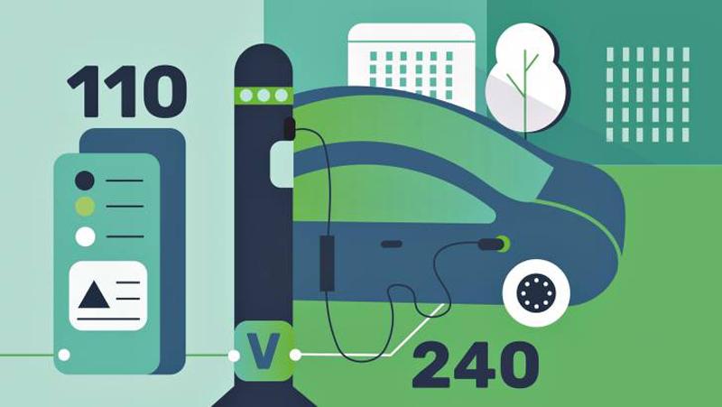 etiquetado vehículos eléctricos y puntos de recarga UE