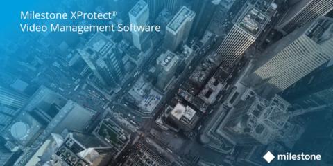 Software de gestión de vídeo Milestone XProtect