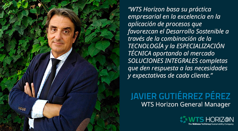 Javier Gutiérrez Pérez, WTS Horizon General Manager