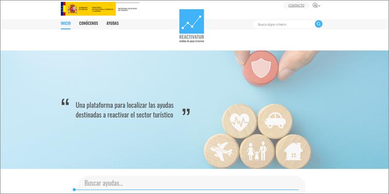 La nueva web 'Reactivatur' ofrece información sobre ayudas para la digitalización del turismo