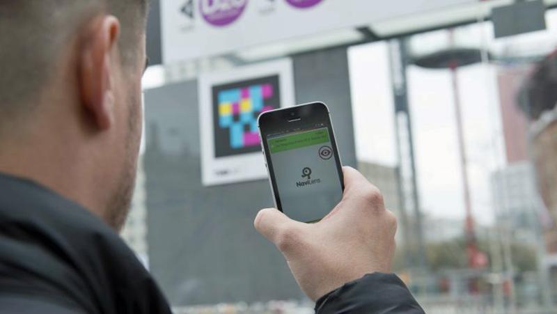etiquetas inteligentes en la red de autobuses y metro de Barcelona