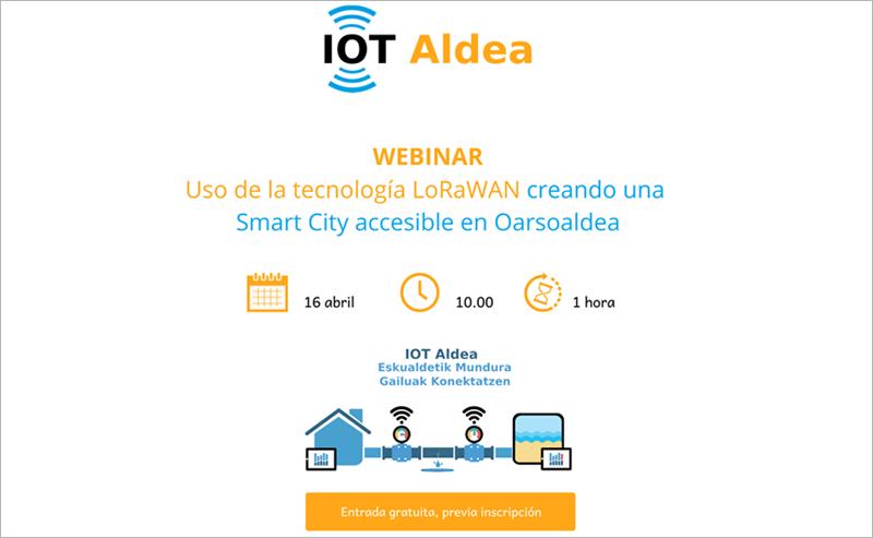 webinar sobre 'IOT Aldea'