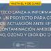 El proyecto para crear un marco de acción en casos de contaminación ambiental sale a información pública