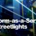 Plataforma como servicio para el alumbrado urbano