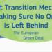 El Parlamento Europeo aprueba destinar 17.500 millones de euros al Fondo de Transición Justa