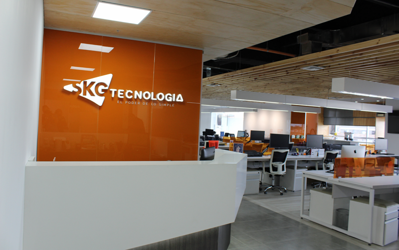 oficina de SKG Tecnología