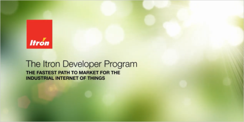 Programa para desarrolladores de Itron