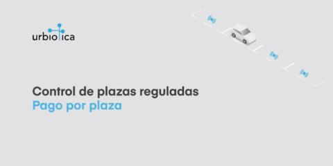 Solución de control de pago por plaza de aparcamiento de Urbiotica